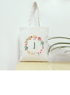 Bridesmaid Gifts - Personalized Canvas Style Canvas Bag