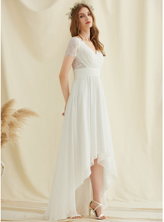 long white cocktail dress