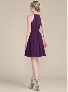 cap sleeved bridesmaid dress