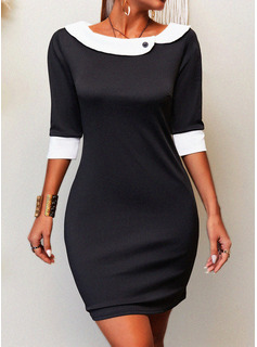 homecoming dresses with 3/4 sleeves