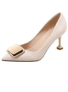 silver bridesmaid pumps