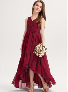 dress red long