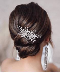 Ladies/Kids Beautiful Rhinestone/Alloy Hairpins With Rhinestone (Sold in single piece)