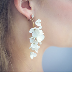 Ladies' Elegant Alloy Rhinestone/Beads Earrings For Bride/For Bridesmaid/For Mother/For Her