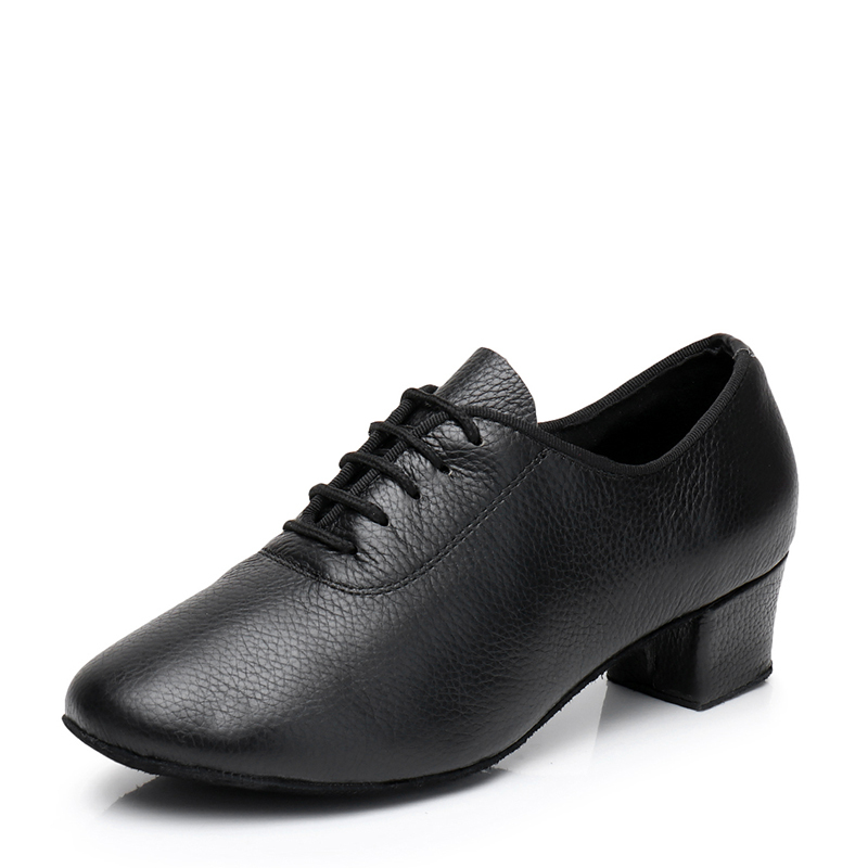Women's Real Leather Practice With Lace-up Dance Shoes