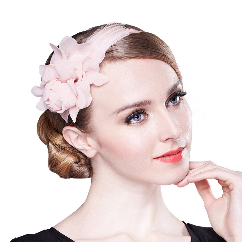 Dames Mooi Feather Fascinators