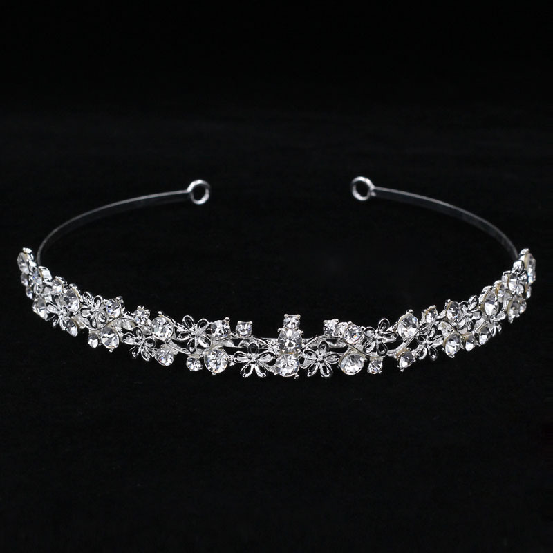 Ladies Beautiful Rhinestone/Alloy Tiaras With Rhinestone