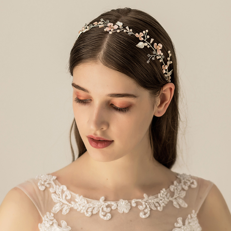 Ladies Elegant Freshwater Pearl Headbands (Sold in single piece)