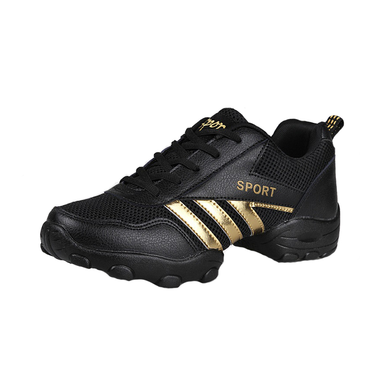 Men's Real Leather Cloth Sneakers Sneakers Dance Shoes