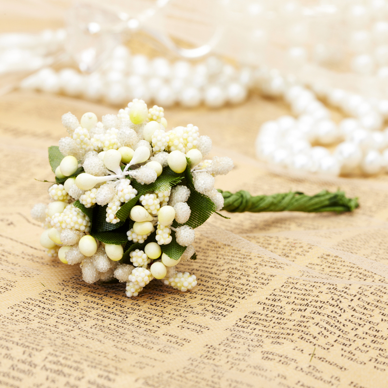 "2""(5cm) Delicate Artificial Flowers (set of 4)"