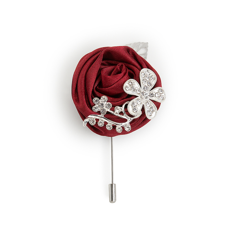 Modern Style Alliage Charmeuse Boutonnière