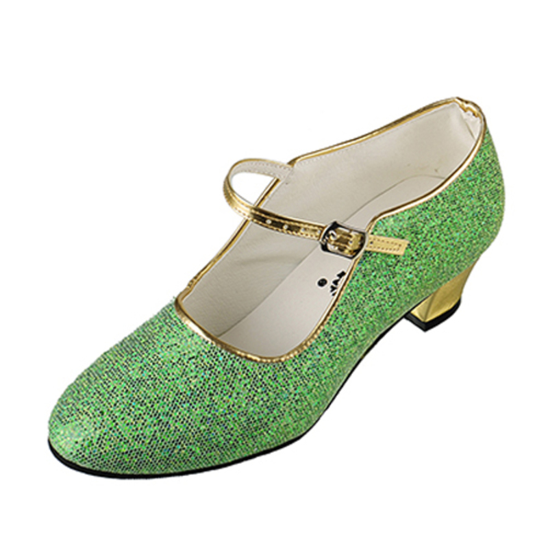 Kids' Leatherette Pumps Ballroom With Buckle Dance Shoes