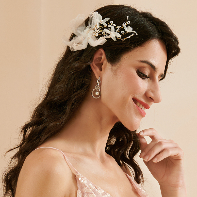 Special Net Yarn Hairpins (Set of 2)