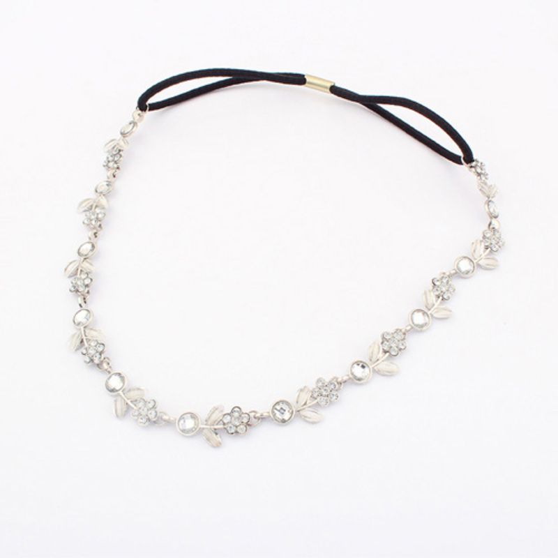 Elegant Rhinestone/Alloy Headbands
