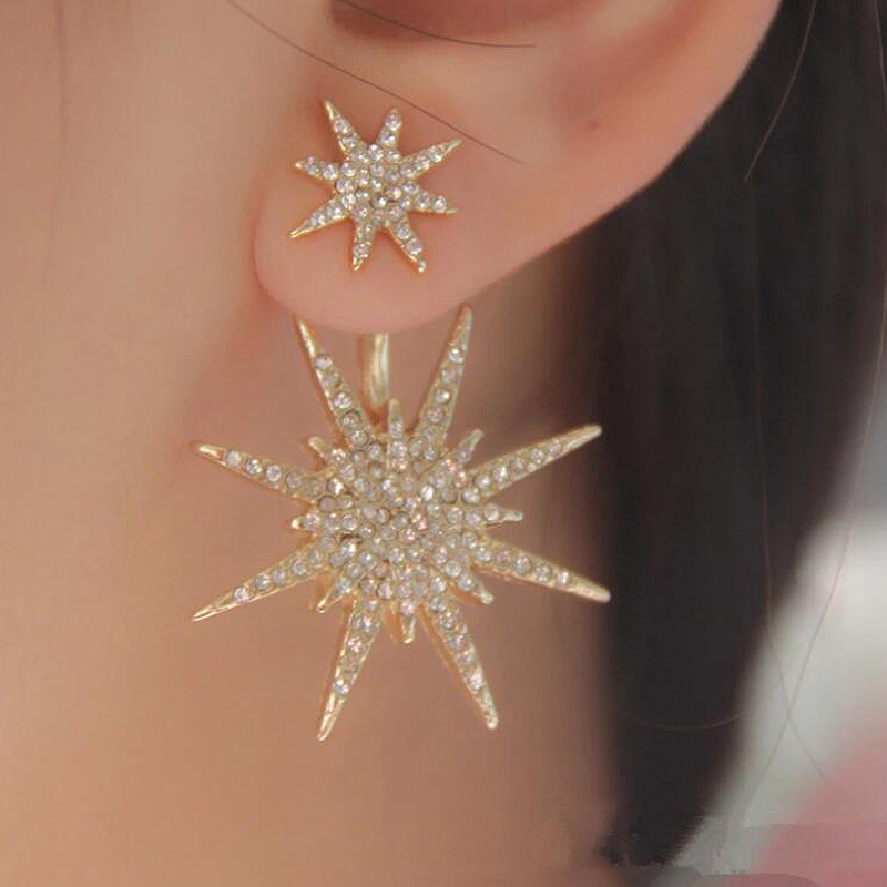 Shining Alloy/Rhinestones Ladies' Earrings
