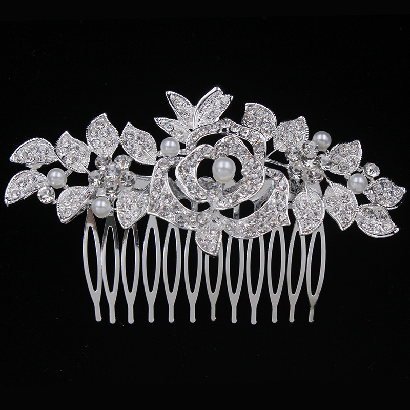 Gorgeous Alloy/Metal Combs & Barrettes (Sold in single piece)