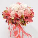 Gorgeous Round Silk Flower Bridal Bouquets (Sold in a single piece) -