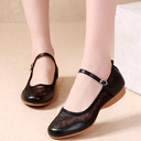Women's Leatherette Mesh Pumps Latin Modern Jazz With Hollow-out Dance Shoes