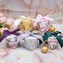 Lovely/Simple/Nice/Diamond Design diamond shape paper Favor Boxes With Ribbons (Set of 12)