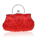 Elegant Satin/Silk Clutches/Wristlets/Satchel/Totes/Bridal Purse/Fashion Handbags/Makeup Bags/Luxury Clutches