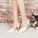 Women's Leatherette Heels Sandals Pumps Ballroom Dance Shoes