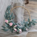 Charming Round Satin Bridal Bouquets/Bridesmaid Bouquets (Sold in a single piece) -