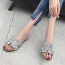 Women's Leatherette Flat Heel Sandals Flats With Others shoes