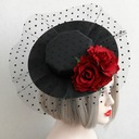 Ladies' Vintage Cotton/Lace Fascinators/Tea Party Hats