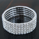 Ladies' Shining Alloy/Rhinestones Bracelets