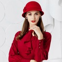 Ladies' Glamourous Wool Floppy Hat