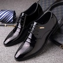 Men's Leatherette Lace-up Derbies Casual Dress Shoes Men's Oxfords