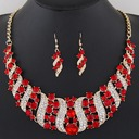 Fashional Alloy Rhinestones With Rhinestone Ladies' Jewelry Sets
