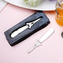 Classic Zinc Alloy Butter Knife (Set of 4)