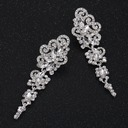Charme Alliage/Strass Dames Boucles d'oreilles