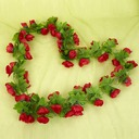 Plastic Flower Vine Wedding Decoration
