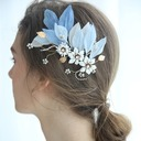 Ladies Glamourous Crystal/Alloy/Voile Hairpins Crystal (Sold in single piece)