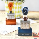 Groomsmen Gifts - Classic Wooden Stamp