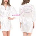 Nylon BridalRobe(12 letters or less)
