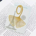 Gingkgo Leaf Zinc Alloy Bookmarks