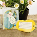 Flip-Flop Luggage Tag in Beach-Themed Gift Box (Sold in a single piece)