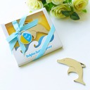 """""""Happy Time"""" Dolphin Metal Bottle Openers (Sold in a single)"""