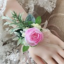 Round Linen Rope Flower Sets (set of 2) - Wrist Corsage/Boutonniere