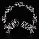 Gorgeous With Rhinestone Ladies' Hair Jewelry