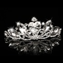 Ladies Glamourous Crystal Tiaras With Rhinestone