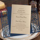 Personalized Flat Card Invitation Cards (Set of 50)