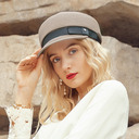 Ladies' Charming Polyester Beret Hats