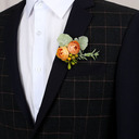 Low-key Free-Form Cloth Boutonniere - Boutonniere (123225484)