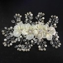 Hottest Crystal/Artificial Silk Flowers & Feathers
