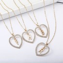 Bridesmaid Gifts - Personalized Solid Color Alloy Necklace