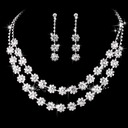 Classic Alloy/Copper With Rhinestone Ladies' Jewelry Sets